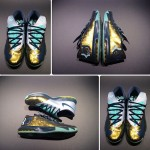 "Nike KD VI Gold/Navy-Teal ""career high"""
