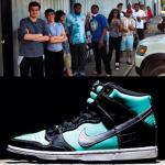 【ダンク ティファニーその後】Nike SB Dunk High TIFFANY