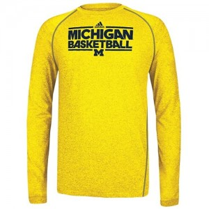 20150820adidas michigan shooting shirts gold