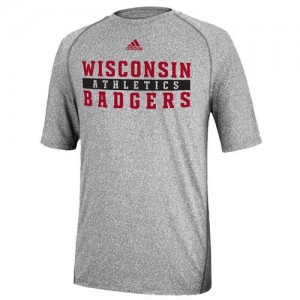 20150712adidas wisconsin athletics tee gry
